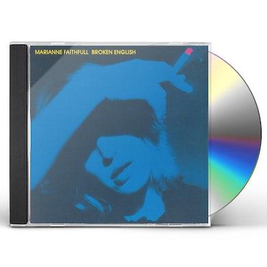 Marianne Faithfull BROKEN ENGLISH CD
