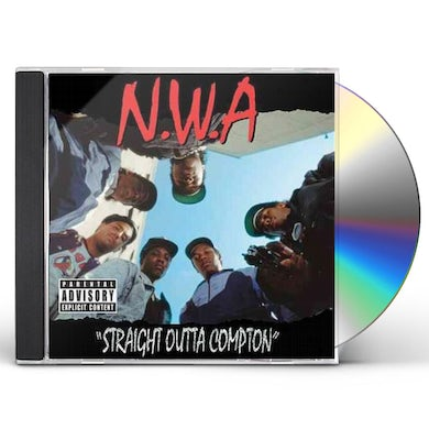 N.W.A. Straight Outta Compton (Explicit) CD