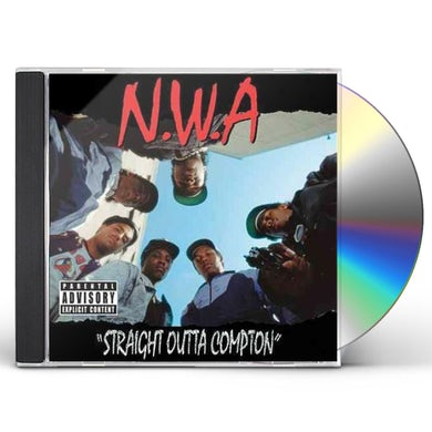 N.W.A. STRAIGHT OUTTA COMPTON CD