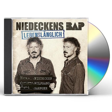 NIEDECKENS BAP LEBENSLAENGLICH CD