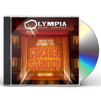 Michel sardou OLYMPIA 2CD / 1975 & 1976 CD
