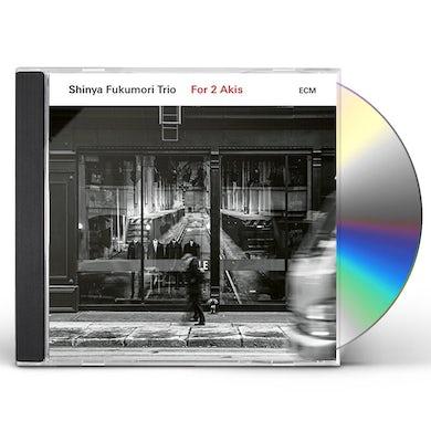 Shinya Fukumori Trio FOR 2 AKIS CD