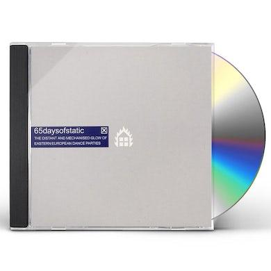 65daysofstatic DISTANT & MECHANIZED GLOW OF EASTERN EUROPEAN CD