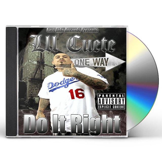 Lil Cuete DO IT RIGHT CD