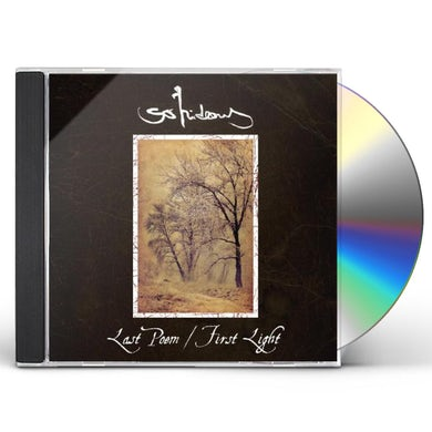 So Hideous LAST POEM / FIRST LIGHT CD