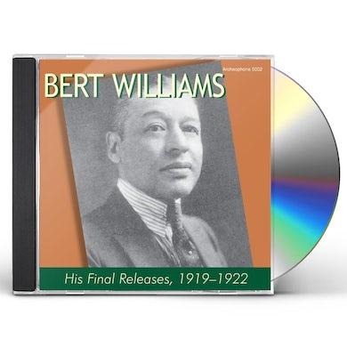 Bert Williams HIS FIRST RARITIES CD