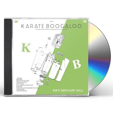 Karate Boogaloo KB'S MIXTAPE NO. 2 CD