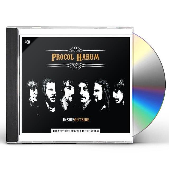 Procol Harum INSIDEOUTSIDE / VERY BEST OF CD