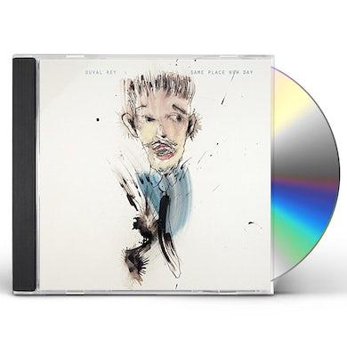 Richard Leo Johnson DUVAL REY: SAME PLACE NEW DAY / ROSCOE HOUNDSTOOTH CD