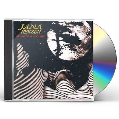 Jana Herzen SOUP'S ON FIRE CD