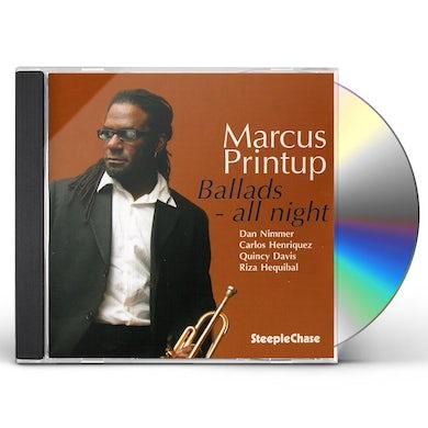 Marcus Printup BALLADS ALL NIGHT CD
