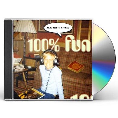 Matthew Sweet 100% FUN CD