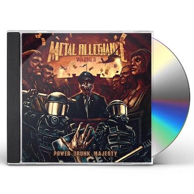 Metal Allegiance VOLUME II: POWER DRUNK MAJESTY CD