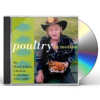 Hasil Adkins POULTRY IN MOTION CD