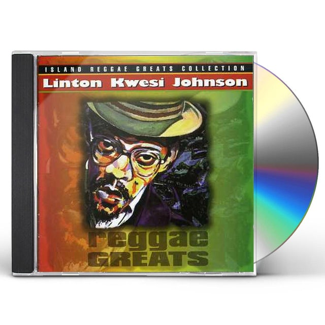 Linton Kwesi Johnson REGGAE GREATS CD