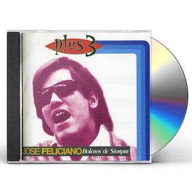 Jose Feliciano BOLEROS DE SIEMPRE CD