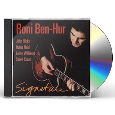 Roni Ben-Hur SIGNATURE CD