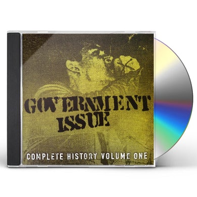 Government Issue COMPLETE HISTORY 1 CD