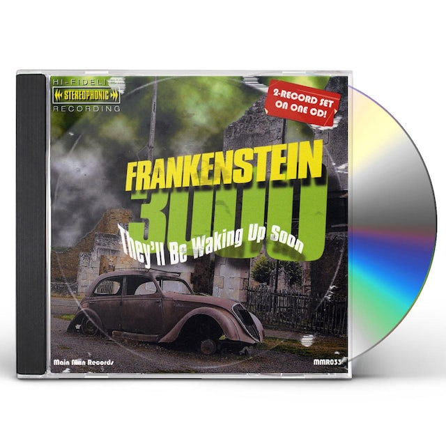 Frankenstein 3000 THEY'LL BE WAKING UP SOON CD