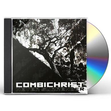 Combichrist NEVER SURRENDER CD