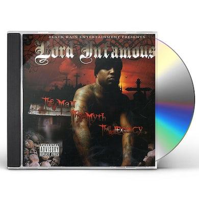 Lord Infamous MAN MYTH LEGACY CD