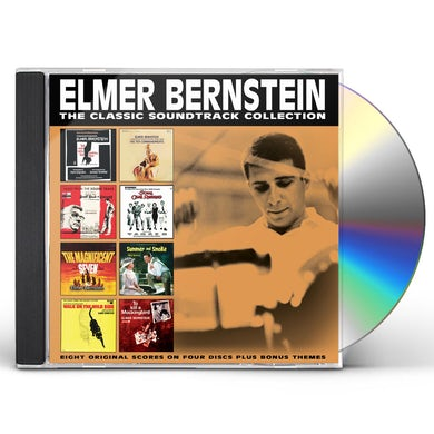 Elmer Bernstein CLASSIC SOUNDTRACK COLLECTION CD