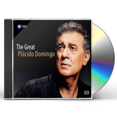GREAT PLACIDO DOMINGO - 75TH ANNIVERSARY EDITION CD
