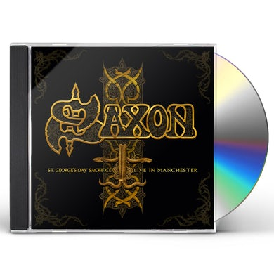 Saxon ST GEORGES DAY SACRIFICE: LIVE IN MANCHESTER CD