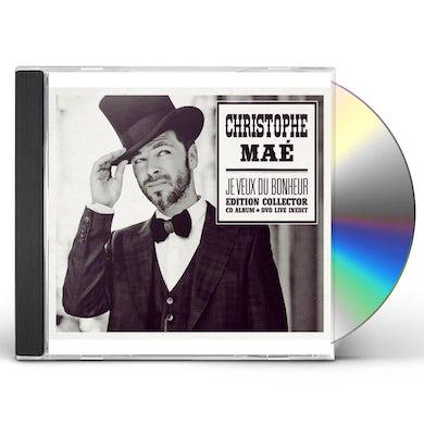 Christophe Mae JE VEUX DU COLLECTOR CD