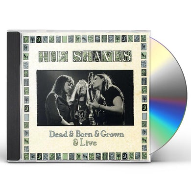 The Staves DEAD & BORN & GROWN & LIVE CD