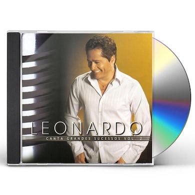 Leonardo CANTA GRANDES SUCESSOS 2 CD