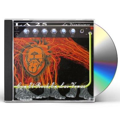 25 La CON EL ROCK EN LAS VENAS CD