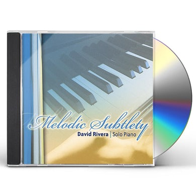 David Rivera MELODIC SUBTLETY-SOLO PIANO CD