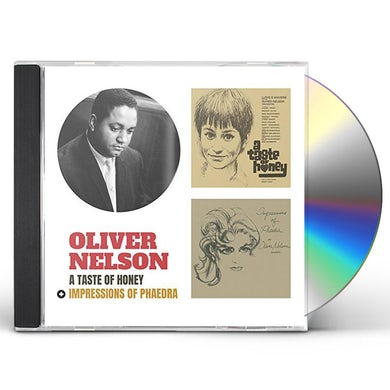 Oliver Nelson TASTE OF HONEY / IMPRESSIONS OF PHAEDRA + 2 BONUS CD