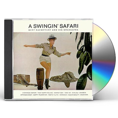 Bert Kaempfert SWINGIN SAFARI / WONDERLAND BY NIGHT CD