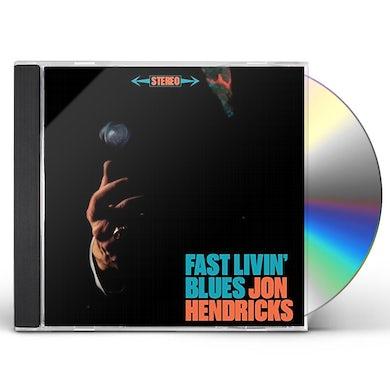 Jon Hendricks FAST LIVIN BLUES / LIVE AT THE TRIDENT CD