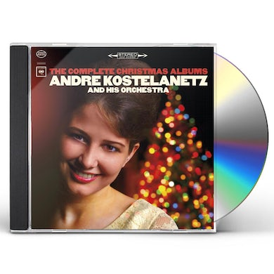 Andre Kostelanetz & His Orchestra COMPLETE CHRISTMAS ALBUMS CD