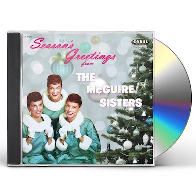SEASON'S GREETINGS FROM THE MCGUIRE SISTERS CD