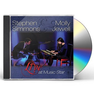 Stephen Simmons LIVE AT MUSIC STAR CD