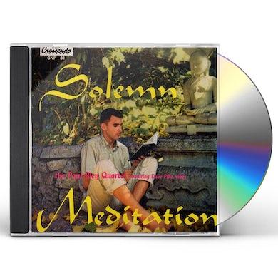 Paul Bley SOLEMN MEDIATION CD