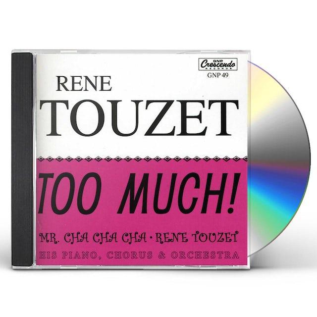 Rene Touzet TOO MUCH CD