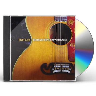 David Elson BLUEGRASS GUITAR INSTRUMENTALS CD