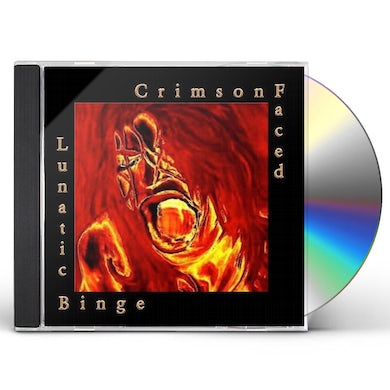 CrimsonFaced LUNATIC BINGE CD