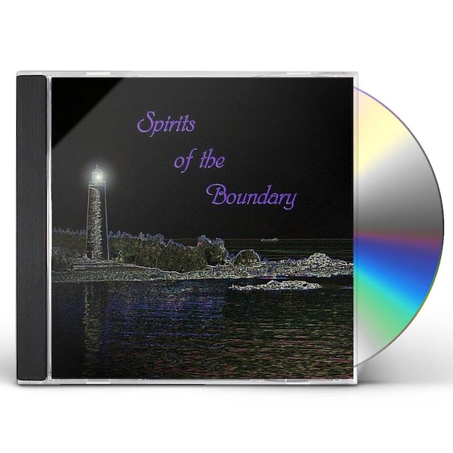 Jesse Anderson SPIRITS OF THE BOUNDARY CD