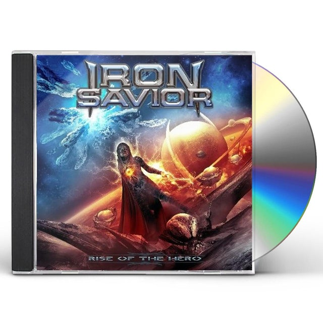 Iron Savior RISE OF THE HERO CD