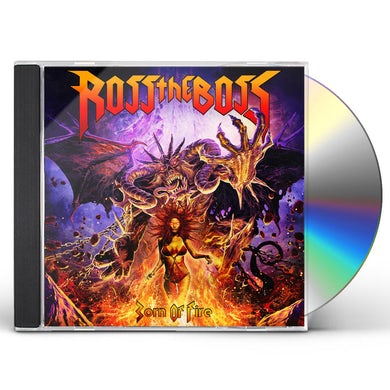 Ross The Boss BORN OF FIRE CD
