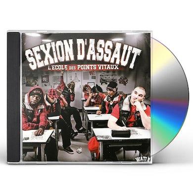 Sexion d'Assaut L'ECOLE DES POINTS VITAUX CD