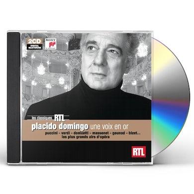 Placido Domingo RTL: UNE VOIX EN OR GRANDS AIRS D CD