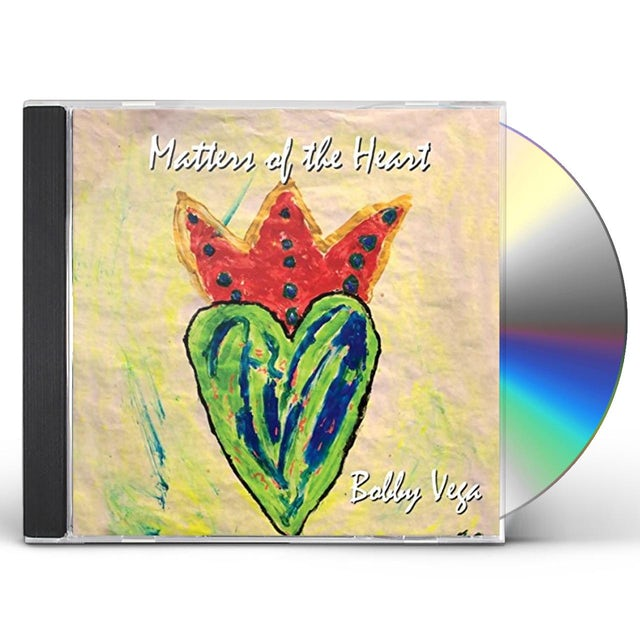 Bobby Vega MATTERS OF THE HEART CD