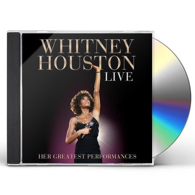 Whitney Houston LIVE: HER GREATEST PERFORMANCES CD